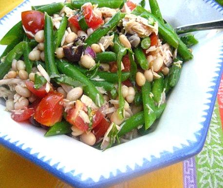 tuna white bean