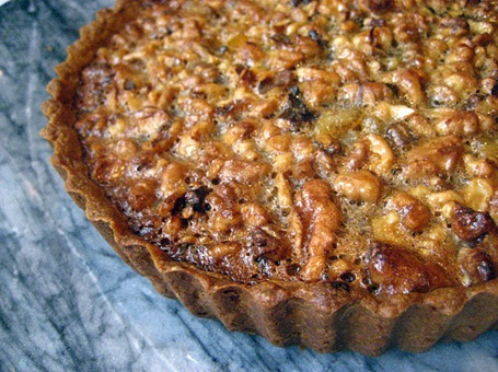 walnut tart