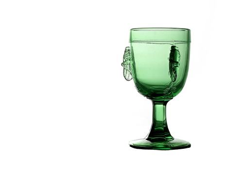 Grasshopper goblet