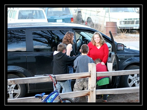 Jenn's arrival