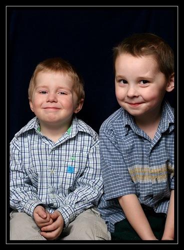Ethan and Caleb