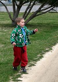 Caleb at LC Park