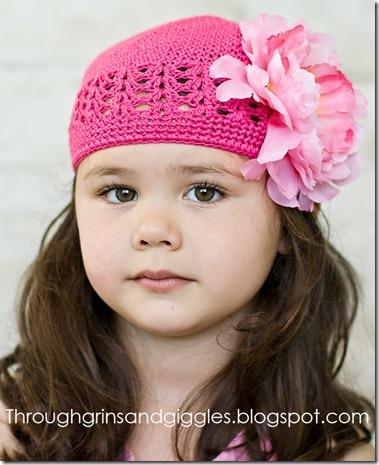 Bella's Bowtique Pink Hat 091web