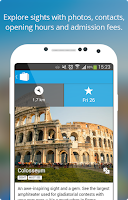 Screenshot of Rome Travel Guide & Map