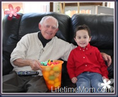 T with grampy