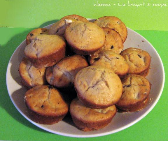 Muffins pere e cioccolato aromatizzati alla cannella