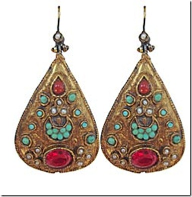 Turkish Bazaar Teardrop earrings