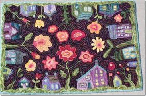 Karen Kahle house rug