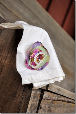 Handkerchief bottom view