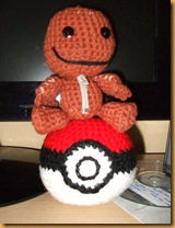 Sackboy Pokeball Amigurumi