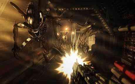 Aliens vs Predator video diversion review