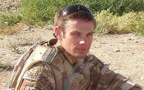 Daniel Shepherd British explosve ordering consultant killed in Afghanistan declared