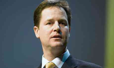 Nick Clegg personality of the Liberal Democrats