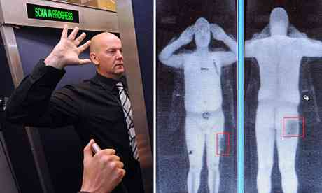 Airport physique scanner