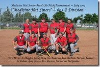 Medicine Hat Senior Mens Slo Pitch Tournament Jul 11, 2009 005F