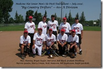 Medicine Hat Senior Mens Slo Pitch Tournament Jul 11, 2009 059F