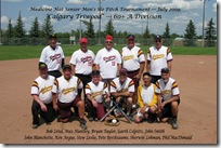 Medicine Hat Senior Mens Slo Pitch Tournament Jul 11, 2009 071F