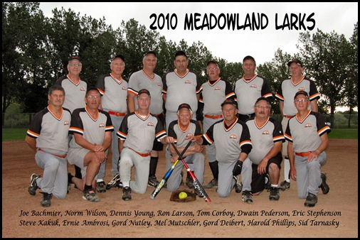 2010 Slo Pitch Larks Team Photo 005F
