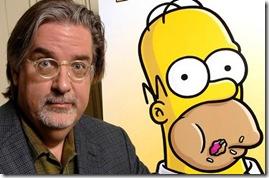 O autor e o Homer simpson