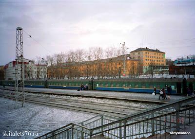 Мурманск, железнодорожье