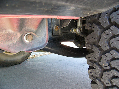 Custom Rear Lower Control Arms