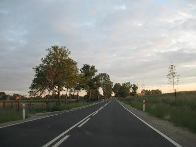 Mazurskie drogi - tym razem droga krajowa