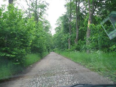 Mazurskie drogi - droga poboczna