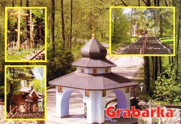 Góra Grabarka - pocztówka
