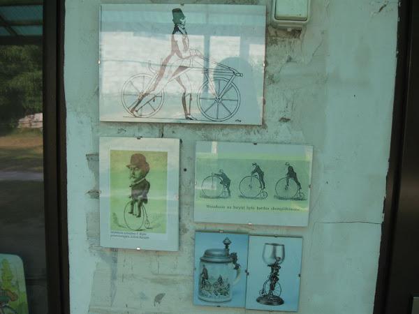 Muzeum Nietypowych Rowerów - historia rowerów