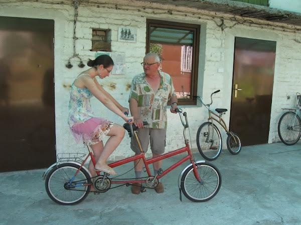 muzeum rowerów gołąb -tandem