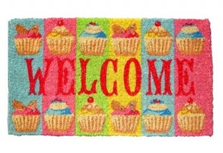 Cupcake Doormat