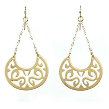crescent moon earrings kt collection