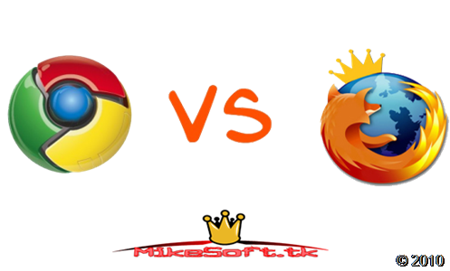 Firefox Vs Chrome exploradores internet