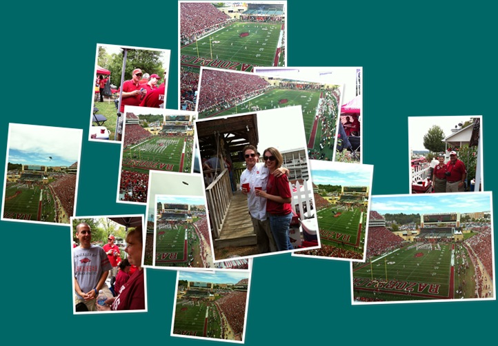 View Football  Alabama vs. Arkansas 2010