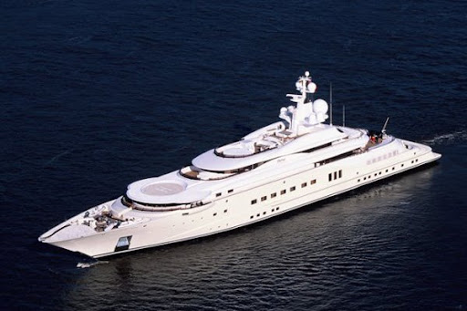 Roman Abramovich Pelorus luxury yacht