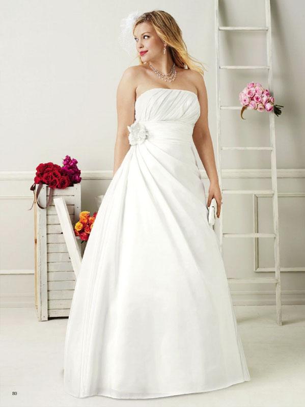 Vestidos de novia para tallas grandes
