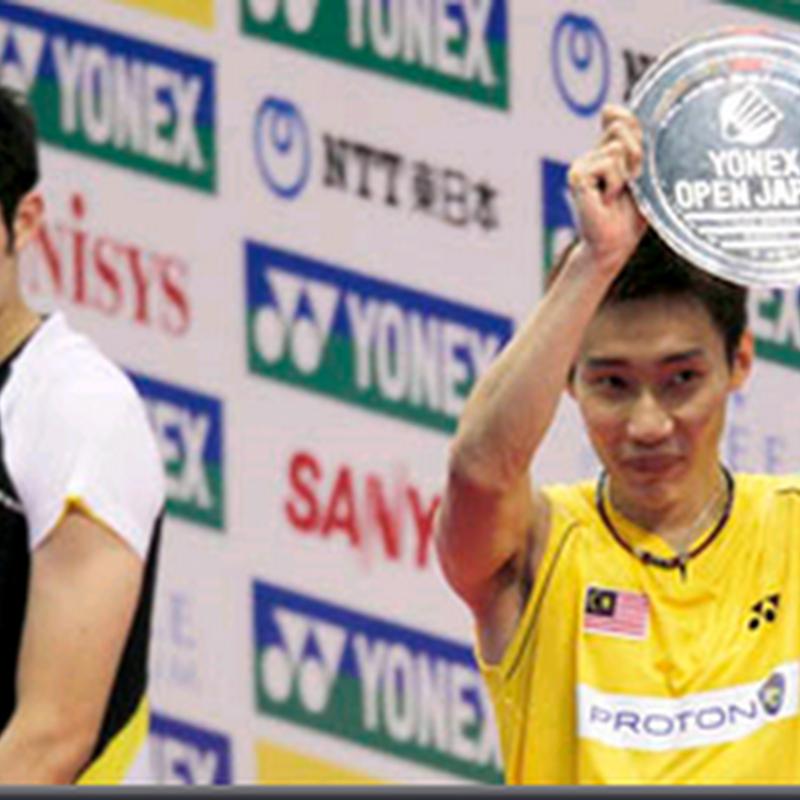 Chong Wei juara di Jepun kalahkan Lin Dan
