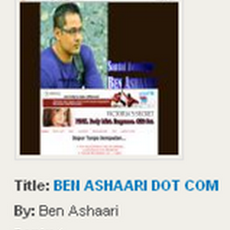 BEN ASHAARI merampas tahta no 1 DIGI - BLOGGER OF THE YEAR 2011