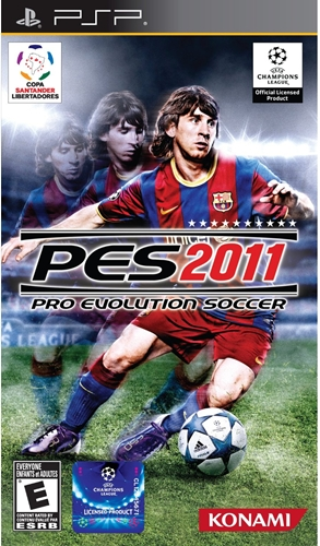 Winning Eleven: Pro Evolution Soccer 2011 (PSP)