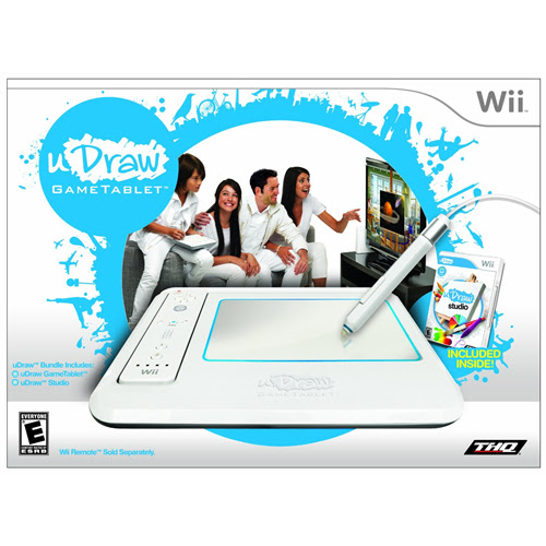 uDraw Studio Game Tablet (Wii)