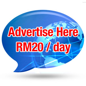Advertisement - 1 week (RM20/day)