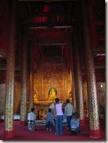 Inside Wat Phra Singh temple