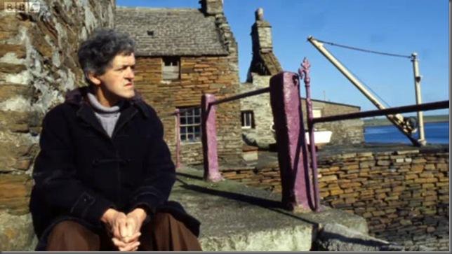 George Mackay Brown in Stromness