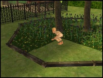 Justin Gardening