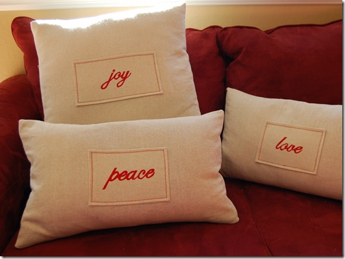 """Pottery Barn"" Pillows"