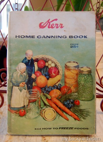 1950's Kerr Home Canning Book