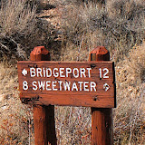 We came from Bridgeport.  Sweetwater is in Nevada.