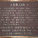 Aurora peaked during the mid 1860's and boasted a population of between 5,000-10,000 people.