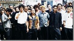 Serizawa com o restante do liceu Suzuram