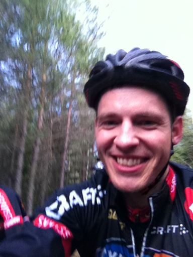 Skogscykling i Lida